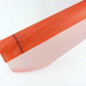rete in fibra di vetro resistente rossa